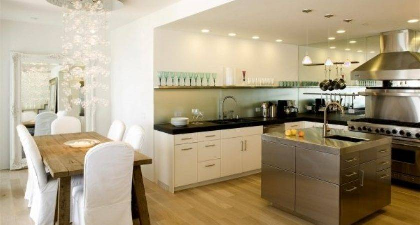 Stylish Modern Kitchen Dining Rooms Small