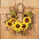 Sunflower Btrswt Twig Wall Decor Yellow Orange Ann