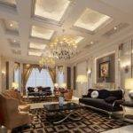Super Luxury Villa Living Room Interior Design