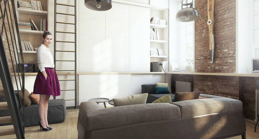 Super Small Apartment Adapts Its Owner Needs