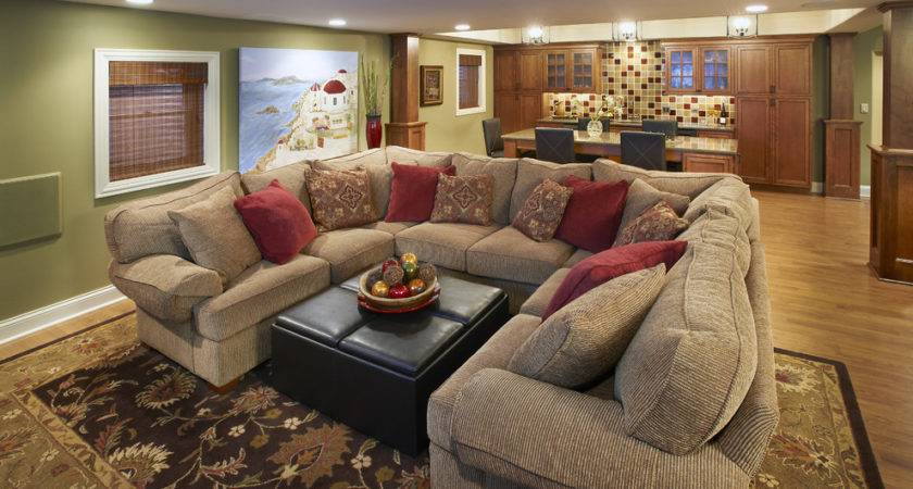Surprising Big Comfy Couch Decorating Ideas