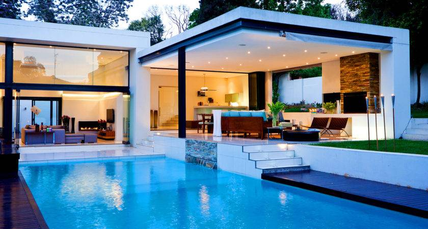 Swimming Pool House Design Decorating