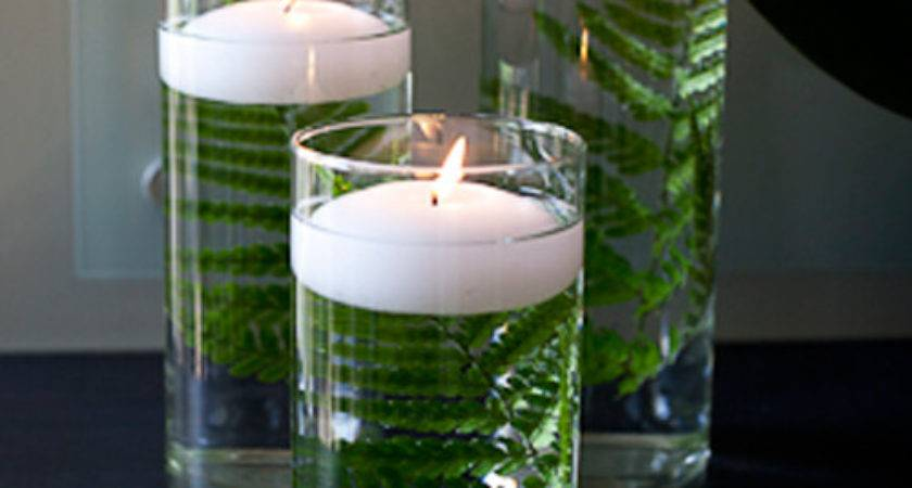 Table Centerpieces Glass Cylinder Vases Candle