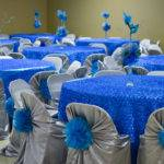 Table Decorations Blue