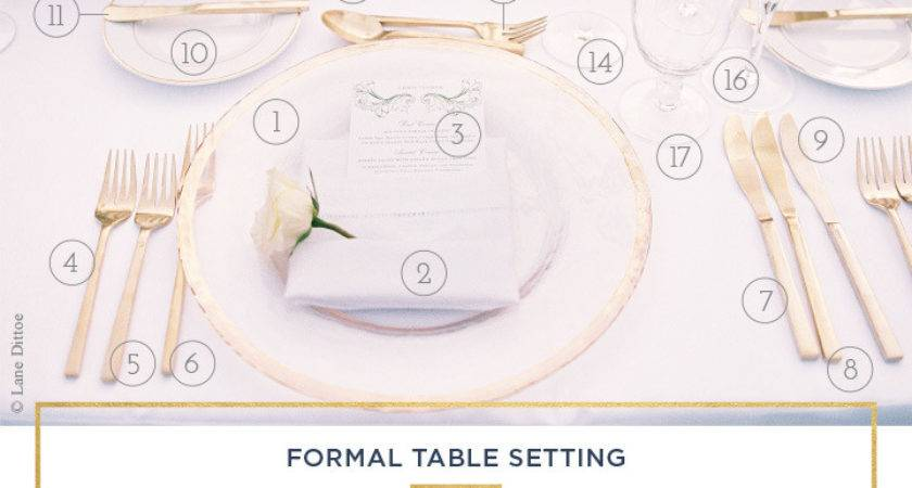 Table Setting Rules Simple Guide Every Occasion