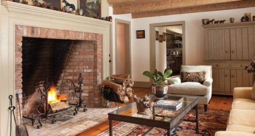 Tall Brick Fireplace Home Design Ideas Remodel