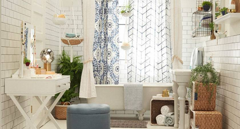 Target Chapter Bohemian Bathroom Emily Henderson