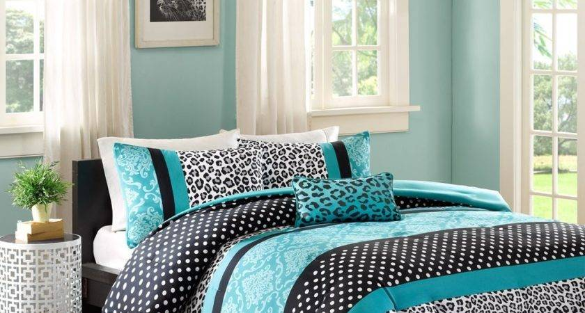 Teal Bedding Curtain Sets Sale Ease Style