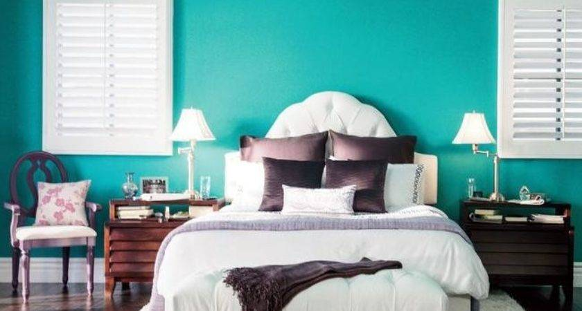 Teal Bedroom Walls Grey
