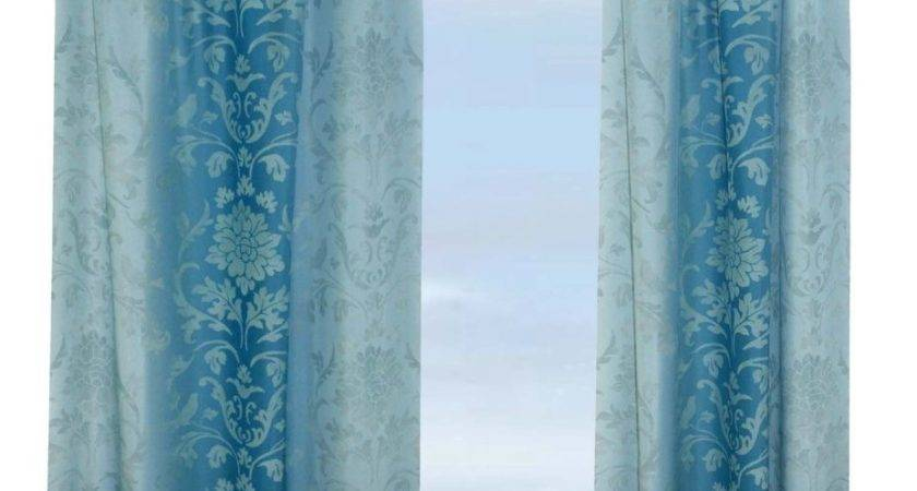 Teal Blue Ombre Curtains Best Curtain Color