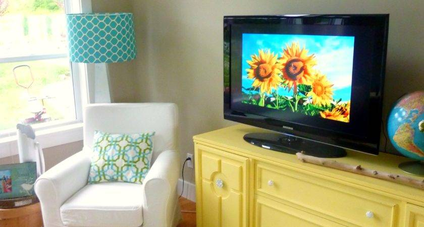 Teal Brown Home Decor Yellow Living Room