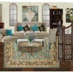 Teal Brown Living Room Tlchurcher Olioboard