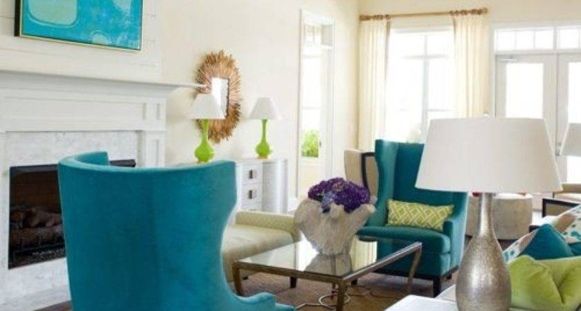 Teal Chartreuse Ideas Remodel Decor