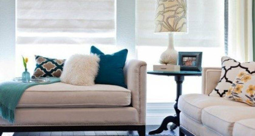 Teal Living Room Fresh Vibrant Look Home Style
