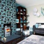 Teal Living Room Style Home