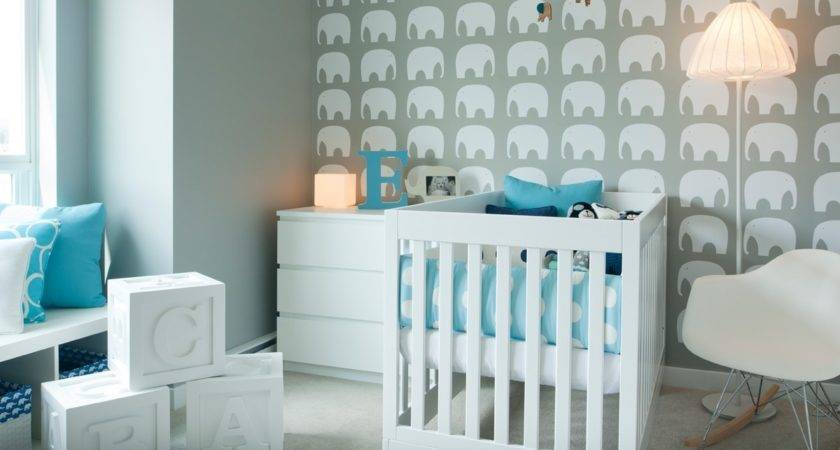 Teal Nursery Design Interior Ideas