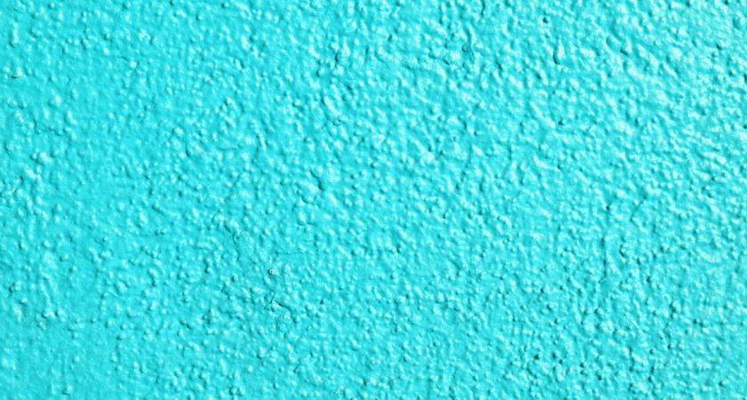 Teal Painted Wall Texture Photograph