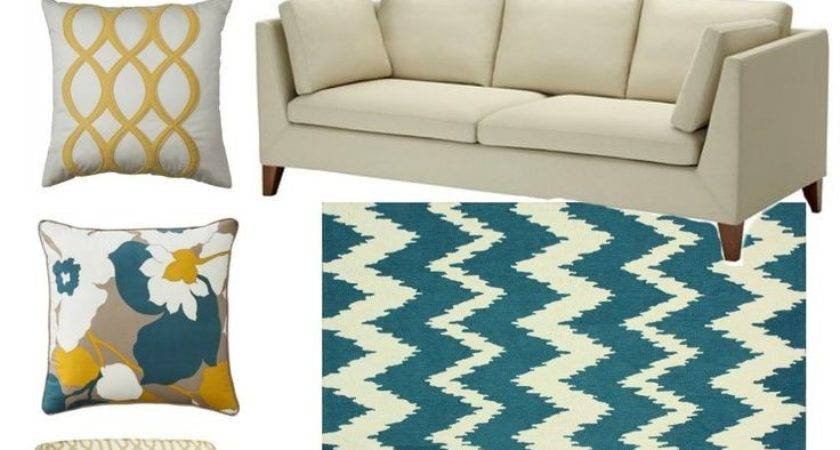 Teal Sofa Living Room Ideas Rooms Pinterest Red