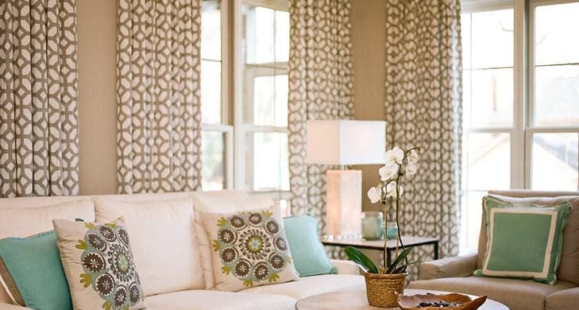 Teal Throw Pillows Living Room Contemporary Beige