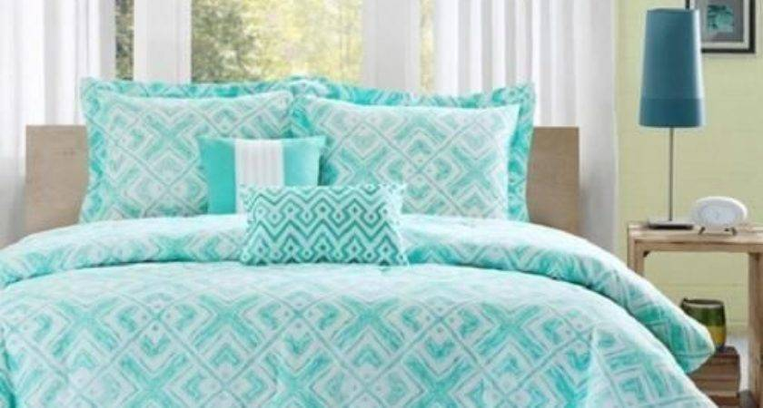 Teal White Bedroom Twin Girls Teen Blue