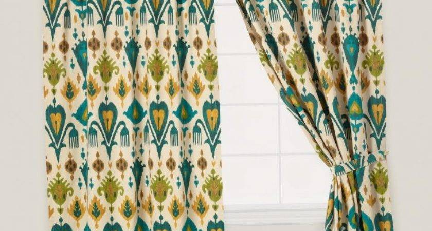 Teal Yellow Curtain Prime Opinion Sheer Panels Panel