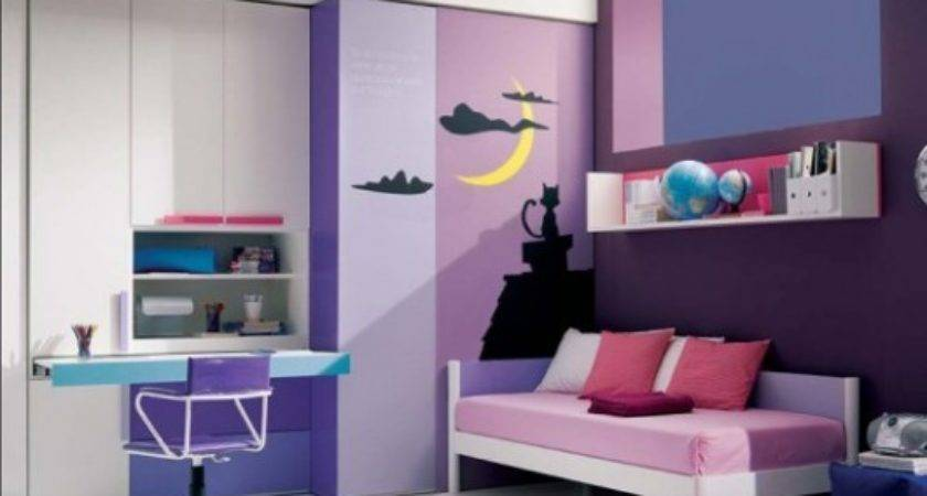 Teenage Bedroom Ideas Girls Small Rooms