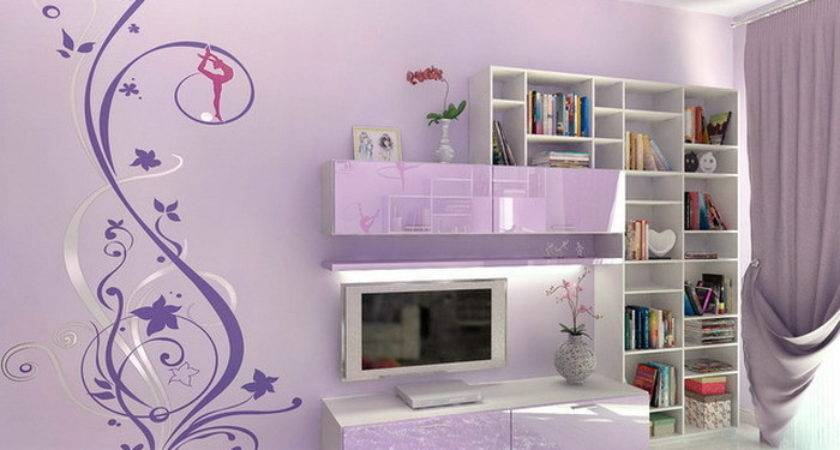 Teenage Bedroom Ideas Wall Mural Interior Design