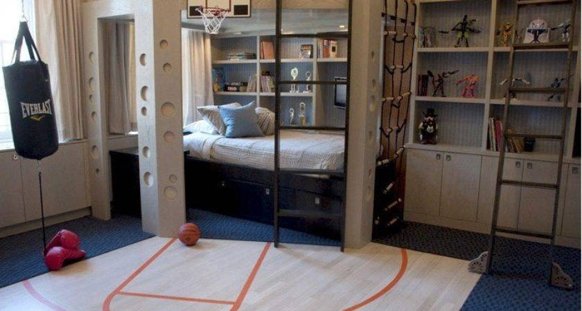 Teenage Boys Room Design Interior Ideas