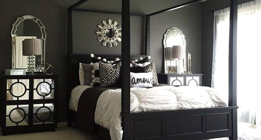 These Black Bedrooms Add Just Right Amount