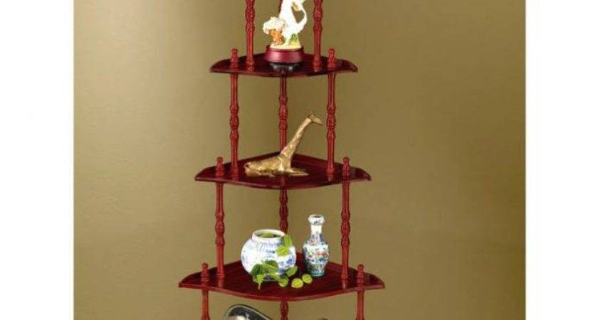 Tier Corner Shelf Unit Leg Design Beautiful