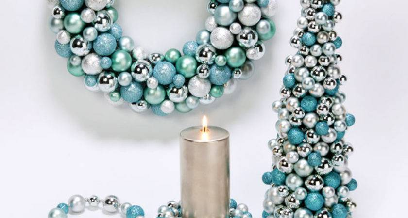 Tiffany Blue Christmas Decor Pinpoint