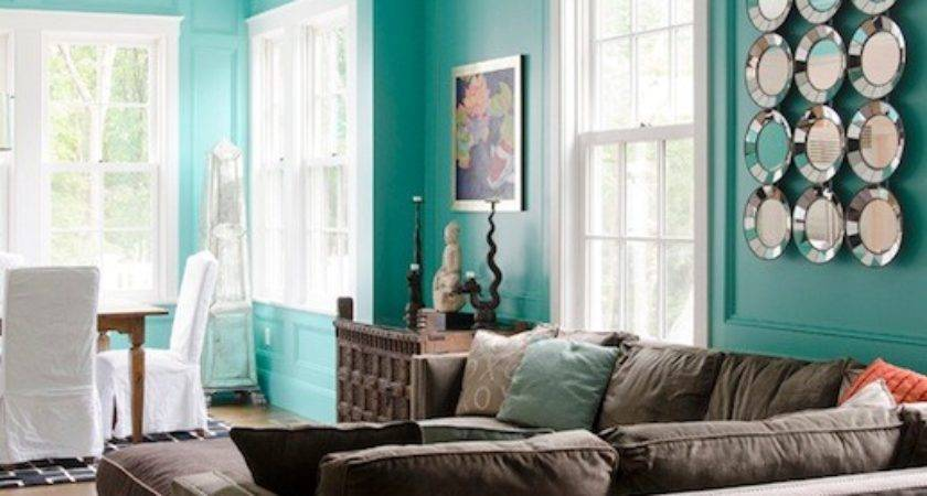 Tiffany Wall Paint Contemporary Living Room Olson Lewis
