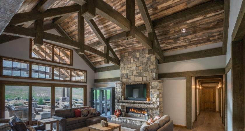 Timber Frame Home Interiors New Energy Works