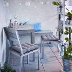 Tiny Ikea Balcony Decor Ideas