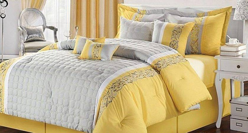 Toddler Bed Awesome Yellow Gray Beddi