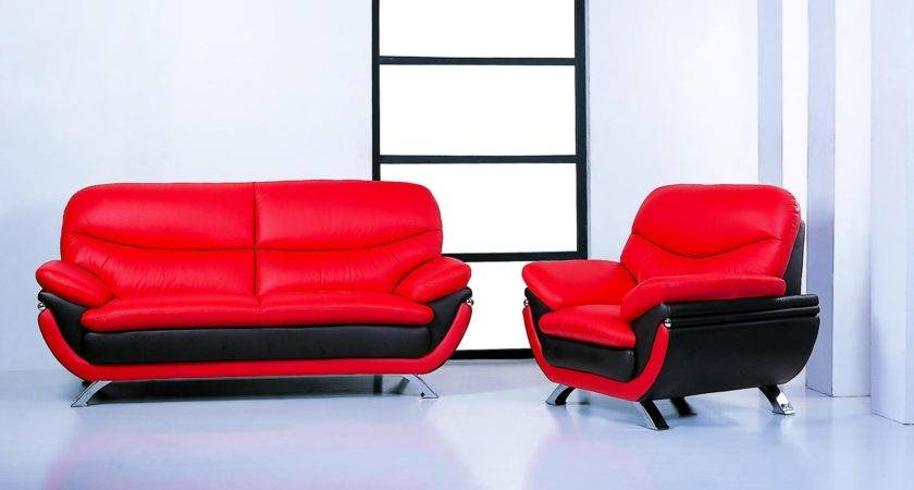Top Black Red Sofa Sets Ideas