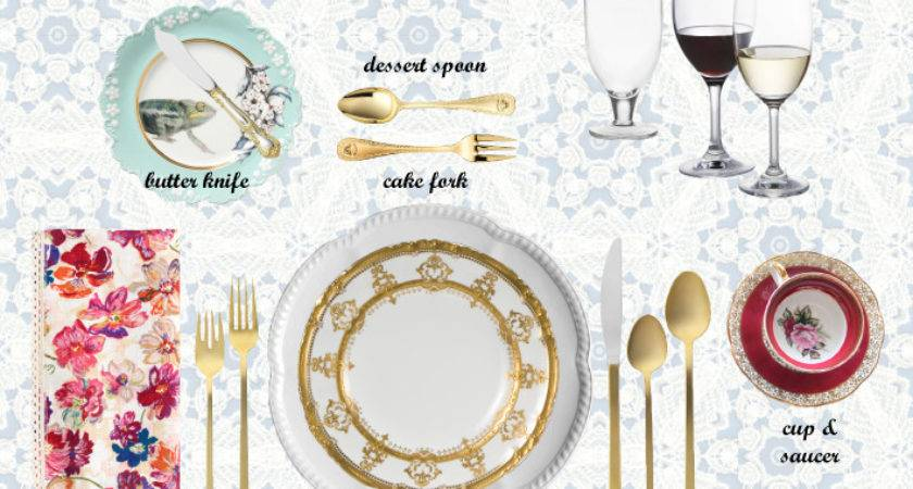 Top Imageries Designs Setting Dinner Table