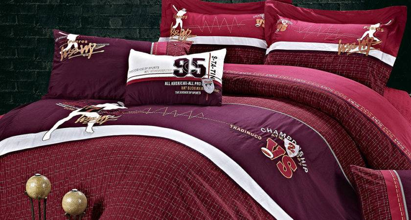 Top Quality Cotton Pcs Embroidered Bedding Set Bed