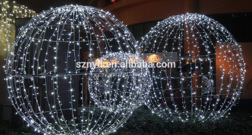 Top Sale Light Large Outdoor Christmas Balls Party