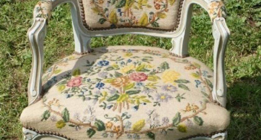 Top Shabby Chic Louis Chair Rococo