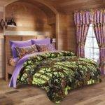 Total Fab Green Purple Bedding Sets