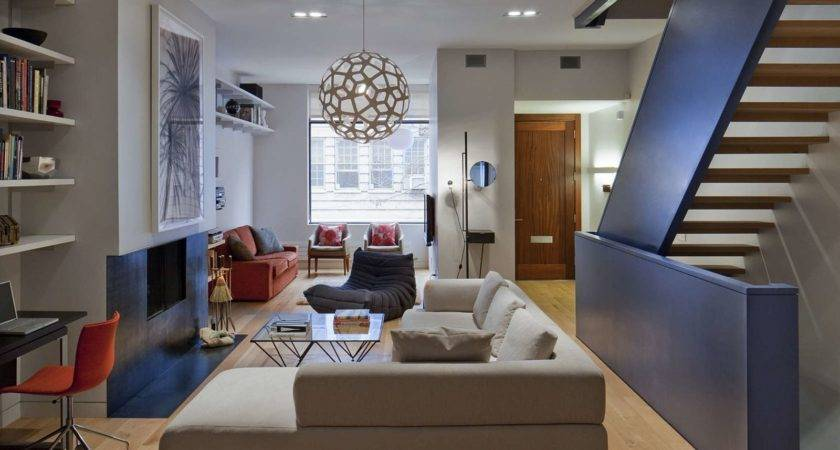 Townhouse Living Room Decorating