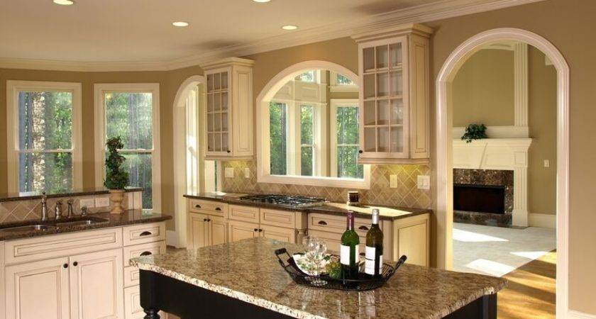 Traditional Antique White Kitchen Cabinets Alno