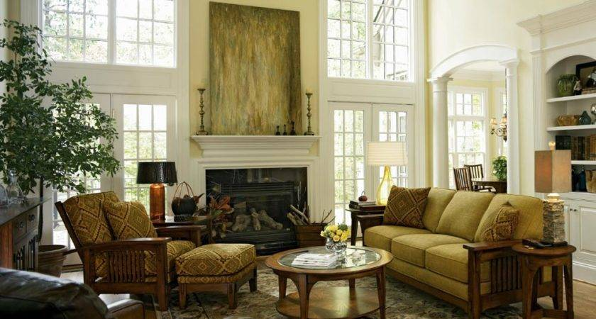 Traditional Living Room Furniture Interior Design Ideas