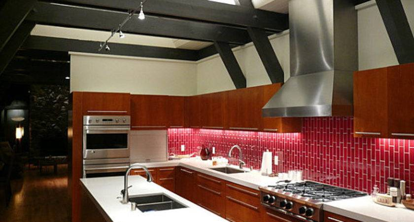 Travertine Subway Tile Kitchen Backsplash Ideas