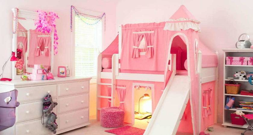Treat Your Little Queen Princess Bunk Bed Slide