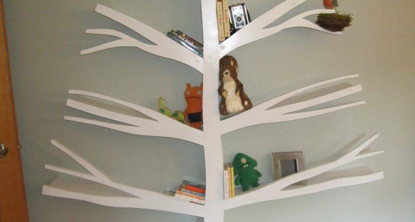 Tree Bookshelves Creatively Display Collections Style