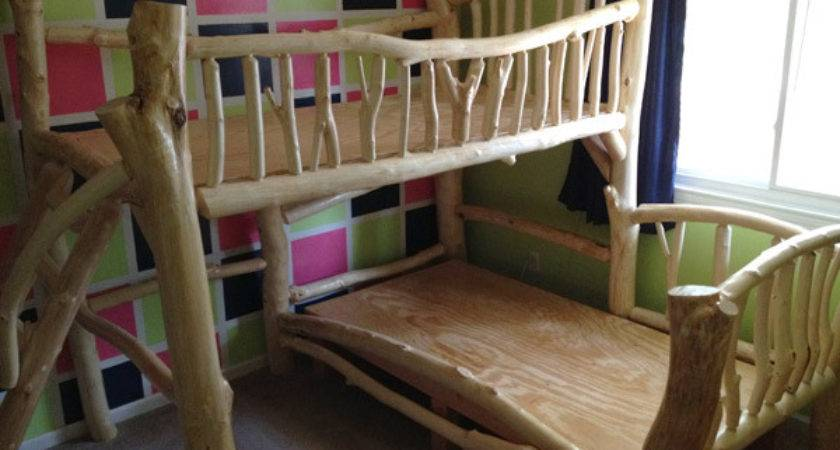 Tree House Bunk Beds Imgkid Has