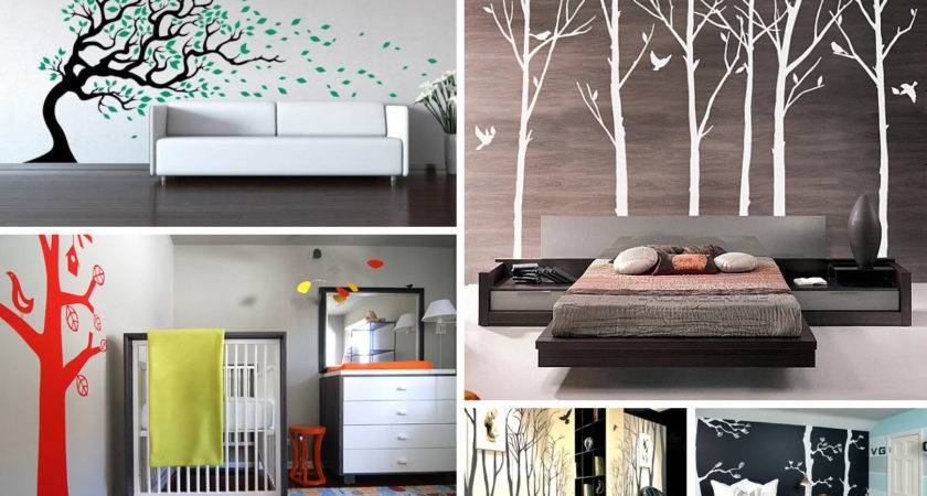Tree Wall Decals Add Style Sophistication Your Home