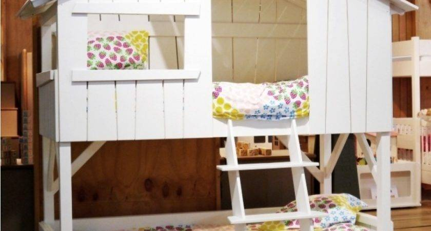 Treehouse Bunk Bed Mdf